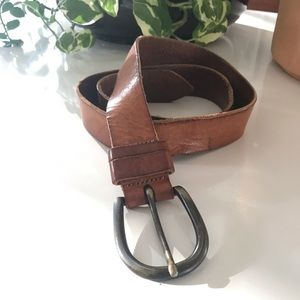 Vintage BANANA REPUBLIC Genuine Leather Belt